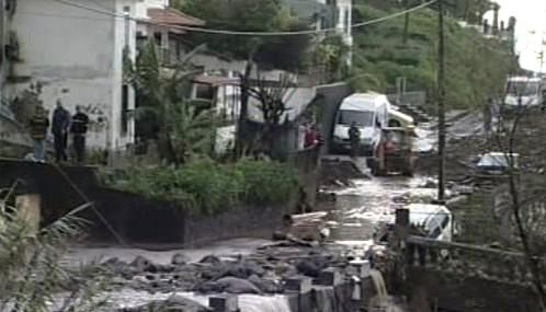 Záplavy na Madeiře