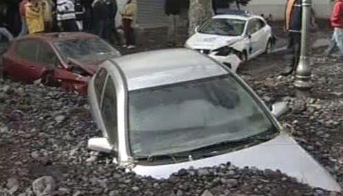 Následky záplav na Madeiře