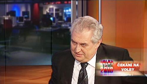 Miloš Zeman v OVM
