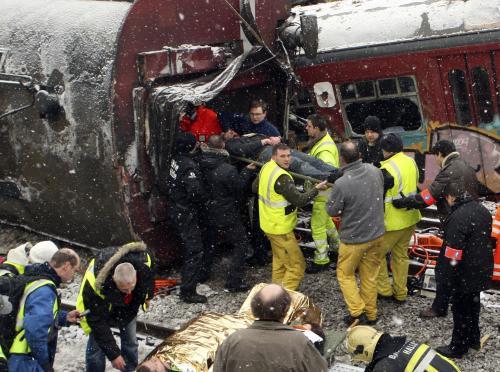 Střet vlaků