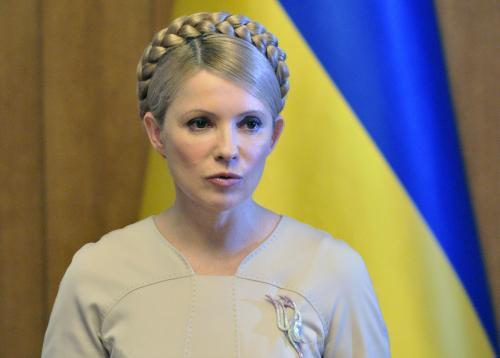 Ukrajinská premiérka Julija Tymošenková