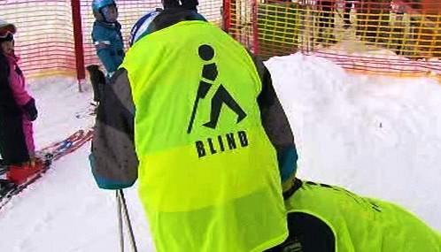 Slepý lyžař