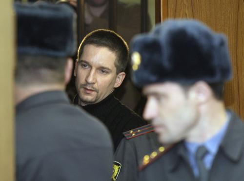 Denis Jevsjukov u soudu