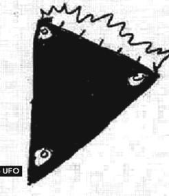 UFO podle představ jednoho ze svědků