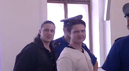 Milan Zádamský (vpravo)