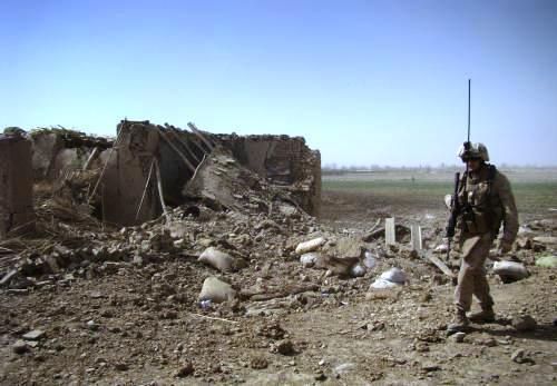 Boje v jihoafghánském Mardžáhu