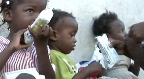 Haitské děti