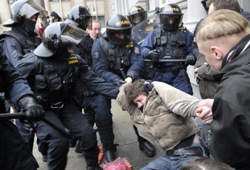 Policie zasahuje proti příznivcům Dělnické strany