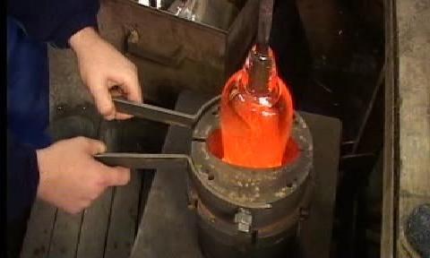 Výroba skla
