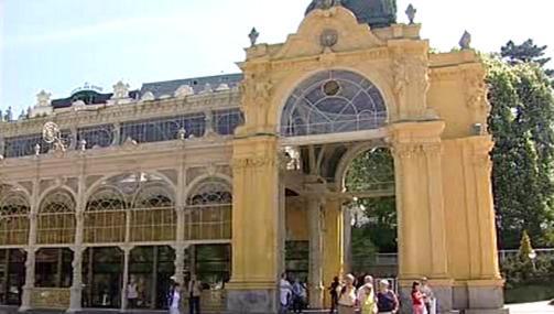 Budova mariánskolázeňské kolonády