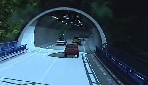 Vizualizace tunelu