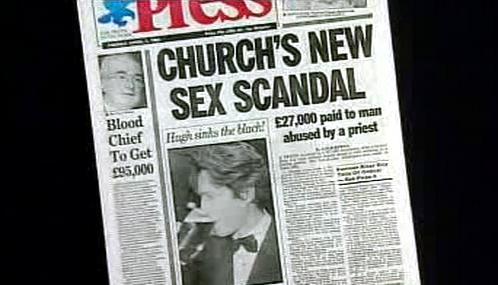 Irský tisk o sexuálním skandálu v katolické církvi