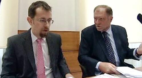 Tomáš Sokol a Karel Bačkovský
