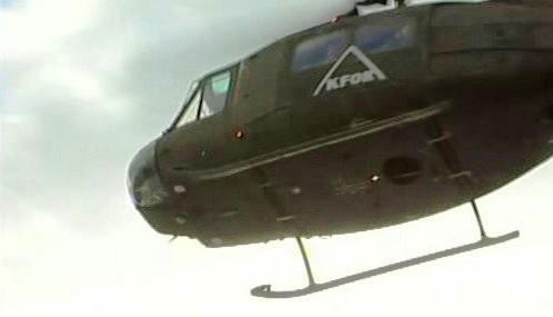 Vrtulník KFOR