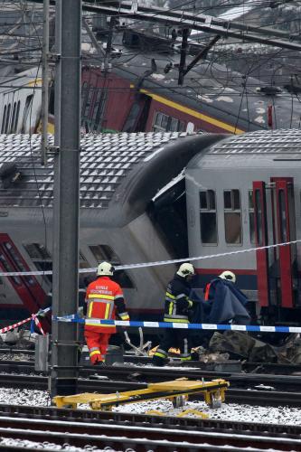 Srážka příměstských vlaků