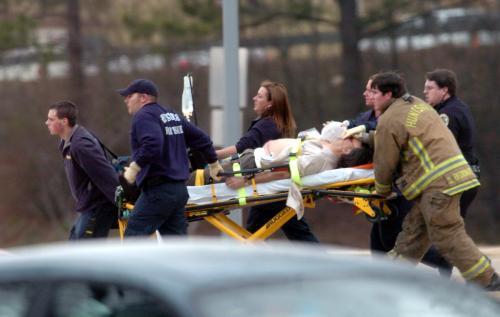 Postřelený student na Alabamské univerzitě