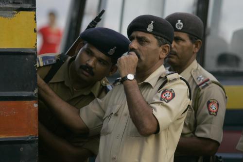 Indičtí policisté