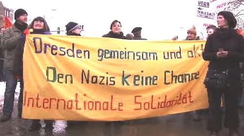 V Drážďanech se demonstruje proti neonacistům