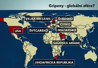 Gripeny - globální aféra?