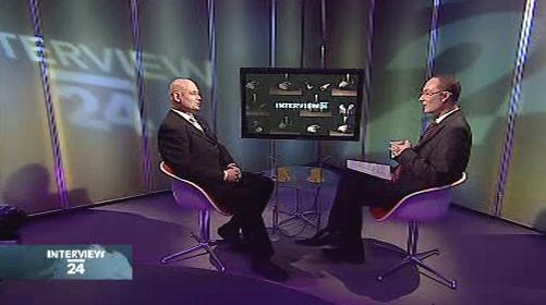 Oldřich Dědek v Interview ČT24
