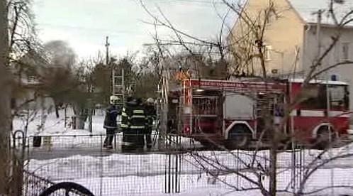 Požár v Uherském Ostrohu