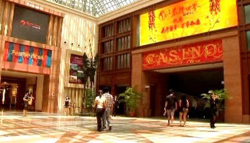 První kasino v Singapuru