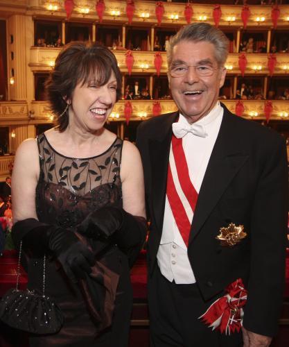 Catherine Ashtonová a Heinz Fischer