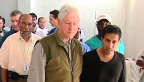 Bill Clinton na Haiti