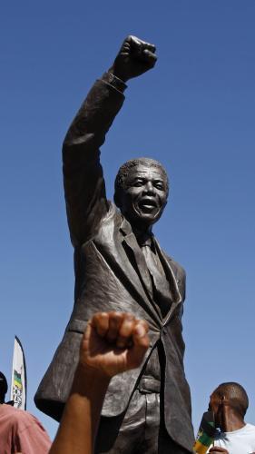 Pomník Nelsona Mandely