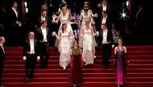 Ples ve vídeňské opeře