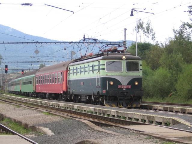 První československá dálková elektrická lokomotiva