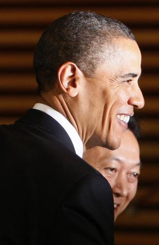 Barack Obama na návštěvě Japonska