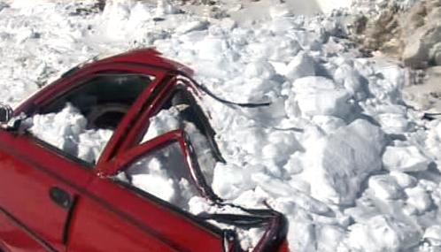 Sněhová kalamita v Afghánistánu