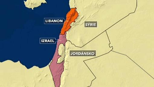 Libanon a Izrael