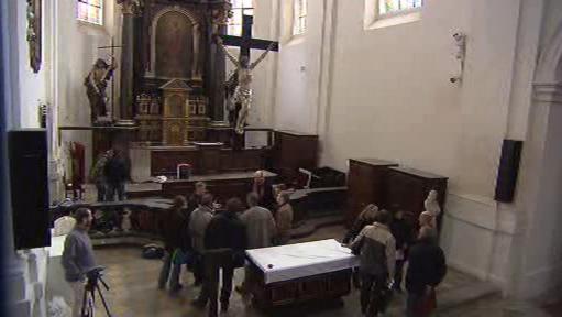 Výzkum v kostele sv. Haštala