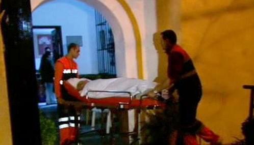 Ve španělském domově důchodců hořelo