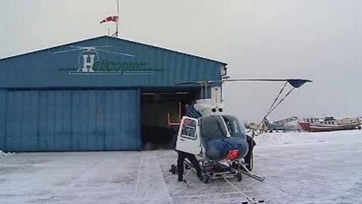 Náhradní vrtulník jihočeských záchranářů