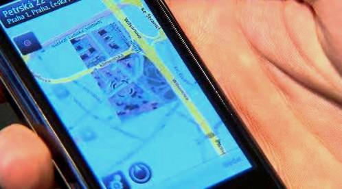 Navigace v mobilu