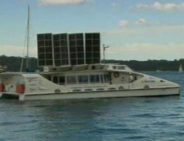 Solární plavidlo