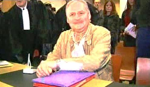 Carlos Šakal před soudem