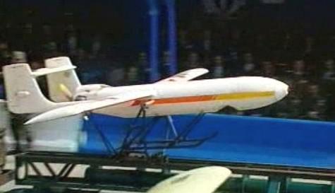 Model bezpilotního letadla
