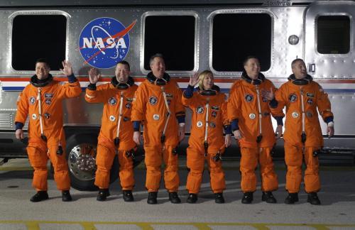 Posádka raketoplánu Endeavour