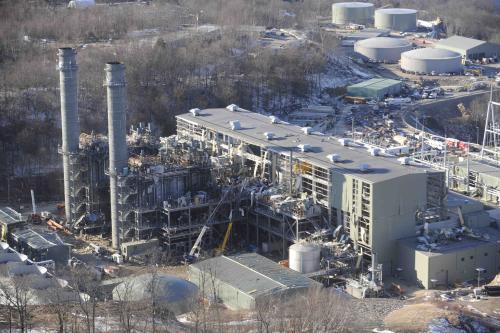 Výbuch elektrárny v Middletownu