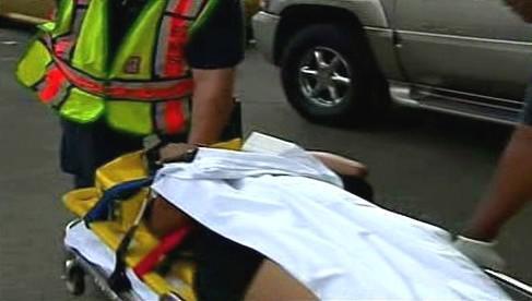 Záchrana zraněných