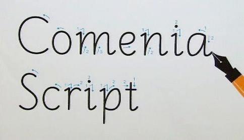 Nový typ písma Comenia Script