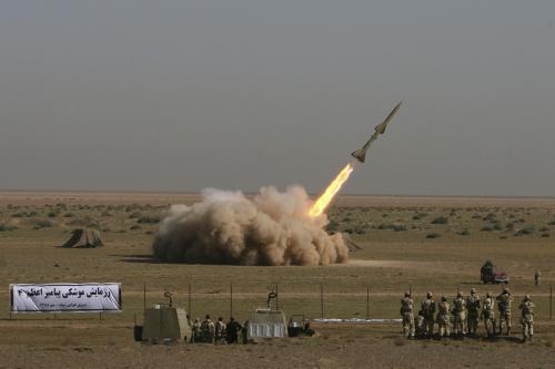 Test íránské rakety Tondar