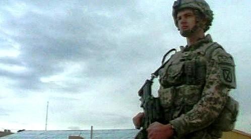 Voják v Afghánistánu