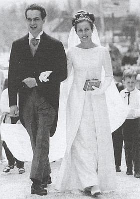 Karel Schwarzenberg s manželkou Theresou v roce 1967