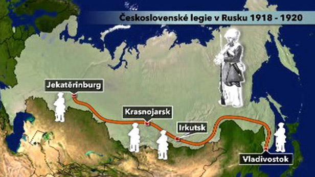 Českoslovenští legionáři v Rusku