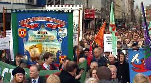 Demonstrace v Ulsteru